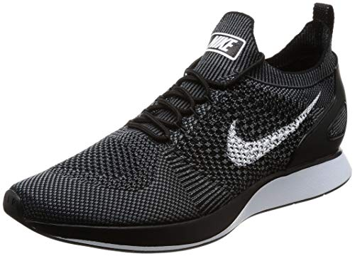 Nike Herren Air Zoom Mariah Flyknit Racer Laufschuhe, Mehrfarbig (Black/Pure Platinum 010), 45.5 EU