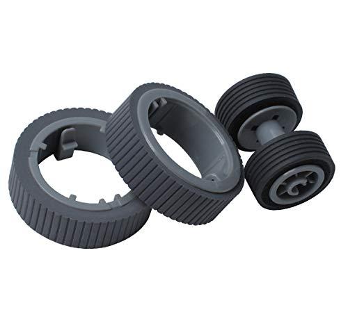PA03670-0001 PA03670-0002 Scanner Brake and Pick Roller Set for Fi-7160 Fi-7180 Fi-7260 Fi-7280 Fi-7140 Fi-7240