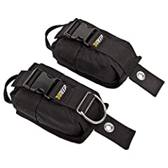 Easy and safe carrying due to inner holder pouch equipped with a strong handle and durable zipper. Reinforced front edge of the outer pocket shell makes putting the weight in a lot easier, especially when you have to do it during training dives all o...