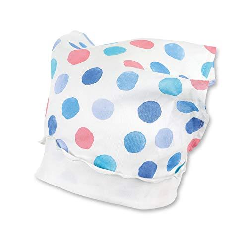 Sterntaler Baby-Mädchen Kopftuch Mütze, Blau (Himmel 325), 43