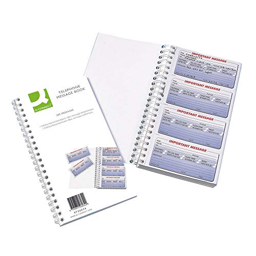Q Connect 200 Messages Duplicate Telephone Message Book