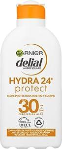 Garnier Delial Adultos Crema Solar Leche Protectora Hidratante 24h IP30 - 200 ml