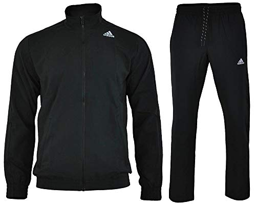 Adidas S TS ESS WV Herren Trainingsanzüge Schwarz UK 42/44 (EU 184) M