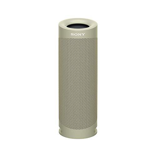 Sony SRS-XB23 - Speaker Bluetooth Waterproof, Cassa Portatile con Autonomia fino a 12 ore, Taupe