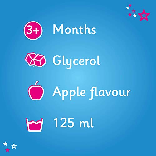 Calcough 125ml Infant Syrup Apple Flavour