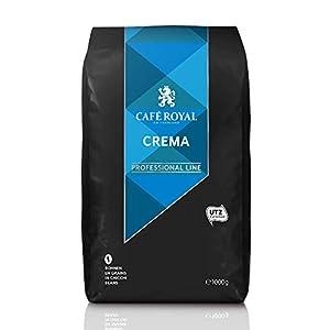 Café en grains Crema certifié UTZ 4x1 kg Café Royal Pro