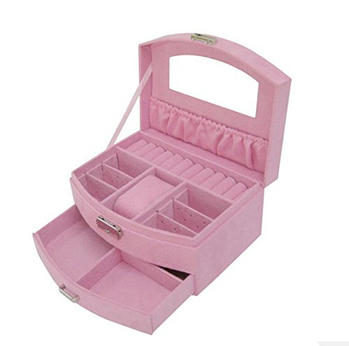 Extractor Caja De Regalo Caja De Terciopelo Sola Caja De Cosméticos De Regalo Regalo Regalo De Boda,Pink