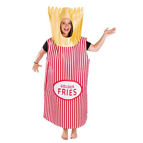 Bodysocks® Disfraz de Patatas Fritas Adulto