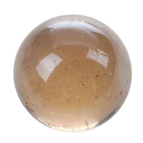 SODIAL(R) Murmeln 16mm Glasmurmeln Knicker Glaskugeln Deko Farb-Nuggets Spielzeug Wasser rot