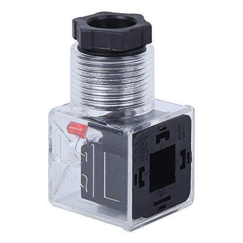 5Pcs Transparent Magnetspule Stecker Führung Dichtung Crimpen Mini Größe Hohe Zuverlässigkeit DC 24V 10A Hydraulisches Magnetventil für Magnetventil