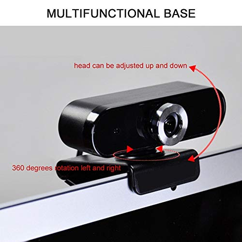 ZzheHou ComputerkameraWeitwinkel-Webcam Full HD-Computerkamera Mit Eingebautem MikrofonHD-Computerkamera