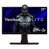 ViewSonic ELITE XG270 27 Inch 1080p 1ms 240Hz IPS G-SYNC Compatible Gaming Monitor with Elite Design Enhancements and Advanced Ergonomics for Esports , Black