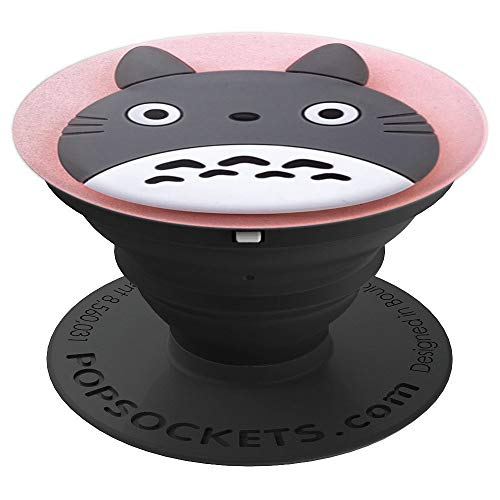 Birthday Gift, Cartoon Character, Cat PopSockets Grip and Stand for Phones and Tablets