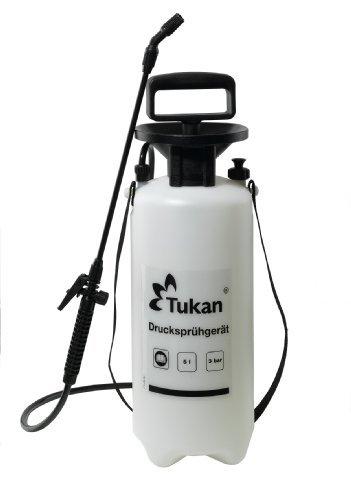 TUKAN Drucksprühgerät 5 Liter mit verstellbarer Düse + Verlängerungsrohr
