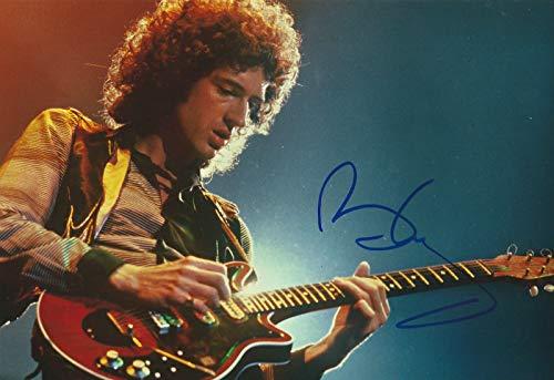 Photo Brian May – Queen Autogramm, signiert, 20 x 25 cm
