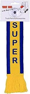 TRUCK DUCK® LKW Auto Minischal Super Trucker Mini Schal Wimpel Flagge Fahne Saugnapf Spiegel Deko