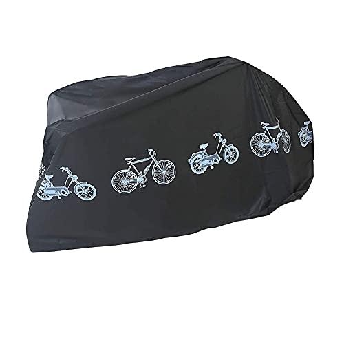 Cubierta Bicicleta portátil Bicicletas de poliéster Impermeable Protectora de la Caja a Prueba de Polvo Anti-UV