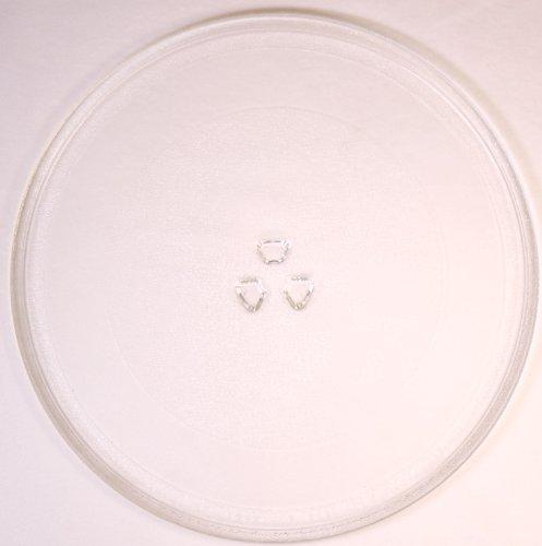 Mikrowellenteller / Drehteller / Glasteller für Mikrowelle # ersetzt AFK Mikrowellenteller # Durchmesser Ø 32,4 cm / 324 mm # Ersatzteller # Ersatzteil für die Mikrowelle # Ersatz-Drehteller # OHNE Drehring # OHNE Drehkreuz # OHNE Mitnehmer