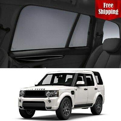 For Sale! Magnetic Car Window Shades for Land Rover Discovery 4 2015-2016 Car Rear Sun Blind Shade B...