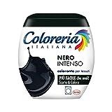 Coloreria Italiana Grey Colorante Tessuti e Vestiti in Lavatrice, Nero Intenso, 1 Confezione