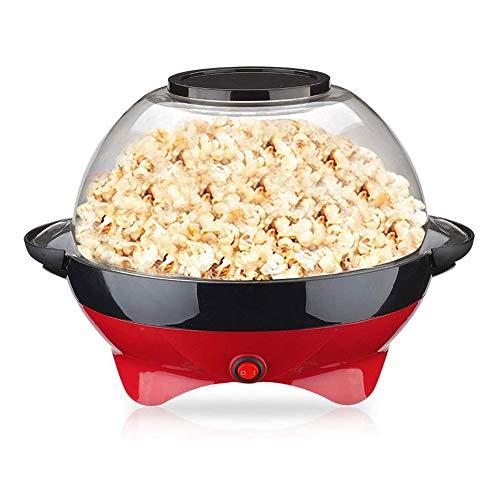 Elektrische Popcornmaschine, Heißluft-Popcornmaschine mit abnehmbarer Heizplatte und Verbrühschutzgriff für Kinder zu Hause DIY Gourmet