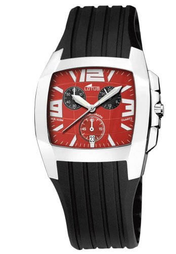 Lotus Shiny 15317-C - Reloj de caballero de cuarzo con...
