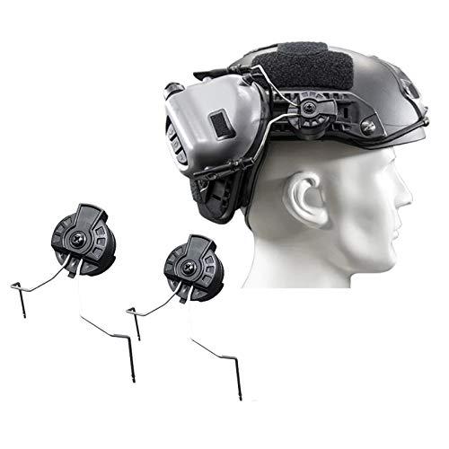 OPSMAN EARMOR Headset Rail Adapter M11 Tactical Headphones Rail Adapter for ARC Rail Adapter Helmet Accessories (BK)