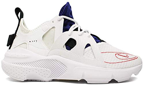 Nike Men's Huarache Type Running Shoes (10, Summit White/University Red/Deep Royal)