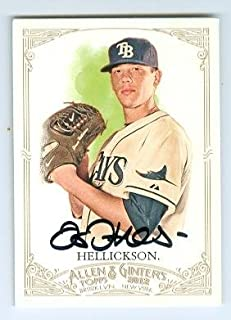 Autograph 120253 Tampa Bay Rays 2011 Topps Allen Ginters No. 49 Jeremy Hellickson Autographed Baseball Card