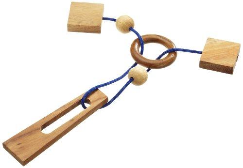Philos 6110 - Hexenende,Seilpuzzle, Knobelspiel