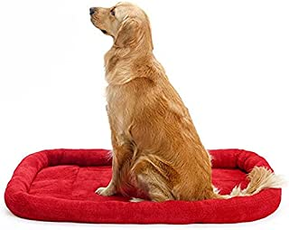 Caresful The Original Calming Donut Cat and Dog Bed in Lux Fur, Machine Washable, Orthopedic Relief, for Pets