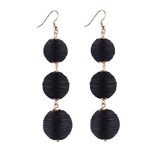 Women's Fashion Ball Earrings