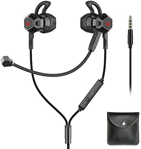 Gaming Earbuds with Microphone Noise Cancelling Stereo Bass Headphones in Ear with Volume Control product image