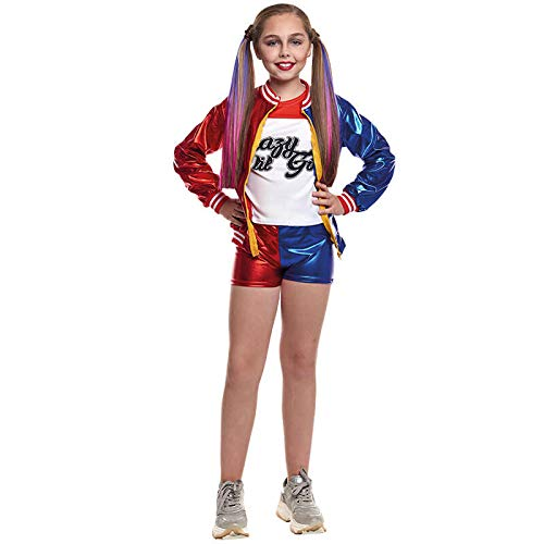Disfraz Joker's Baby niña infantil para Carnaval 7-9