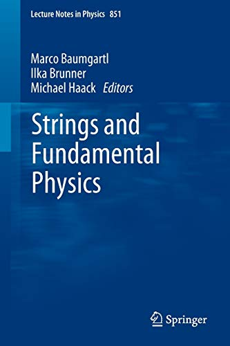 Strings and Fundamental Physics (Lecture Notes in Physics, Band 851)