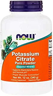 Now Foods, Potassium Citrate Pure Powder, 12 Oz (340 G)
