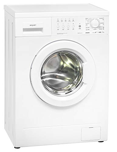 Exquisit Waschmaschine WM 7814-10 | Frontlader |7 kg Fassungsvermögen |weiß