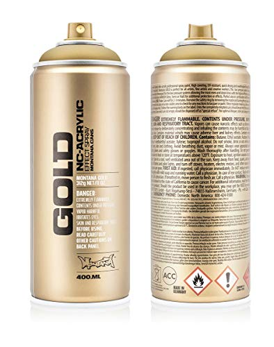 Montana Cans 369759 Spray Dose Gold 400ml
