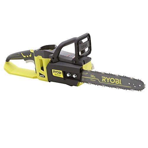 Ryobi 14 in. 40-Volt Brushless Lithium-Ion Cordless Chainsaw - Bare Tool - (Bulk Packaged)