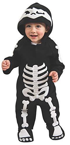 Rubie's - Disfraz de Esqueleto infantil, talla bebé 6-12 meses (Rubie's 885990-I)