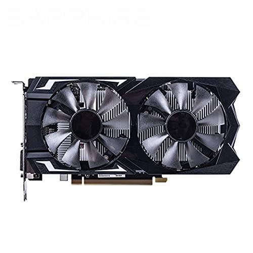 Fit for Sapphire RX 560 Tarjeta de Video de 4GB GPU Radeon RX 560D 4G RX560 RX560D Tarjetas gráficas Juego de computadora para Tarjeta de Video AMD Mapa HDMI PCI-E