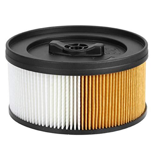 1x HAYATEC Patronenfilter für Mehrzwecksauger und Saugroboter Ersatz für Kärcher 6.414-960.0 Nass- und Trockensaugen kompatibel mit Kärcher WD 4 WD 5