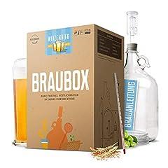 Brouwdoos®, variëteit tarwebier - bierbrouwset voor het brouwen van bier in de keuken - met garantie voor succes van Besserbrauer*