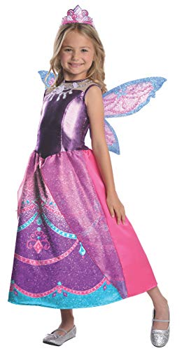 Barbie Fairytopia Mariposa and Her Butterfly Fairy Friends Deluxe Catania Costume, Medium