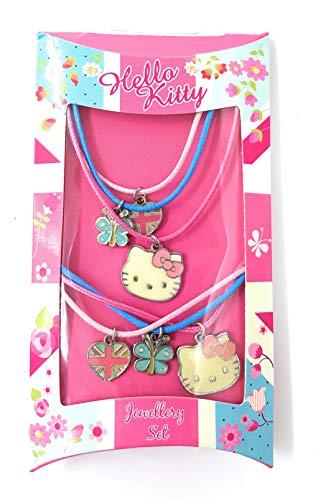 Juego de collar y pulsera de Hello Kitty
