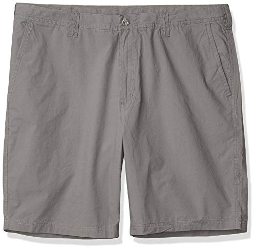 Columbia Men's Washed Out Comfort Stretch Casual Short, City Grey, 34W x 10L