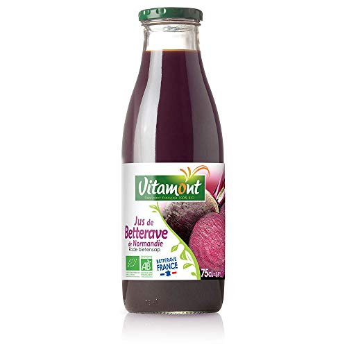 Vitamont - Jus de Betteraves bio - 75Cl