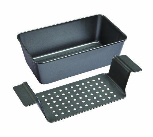 Chicago Metallic Professional Non-Stick 2-Piece Healthy Meatloaf Set