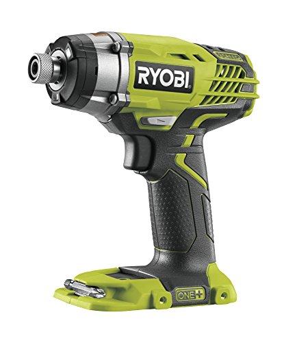 Ryobi R18ID3-0 Atornillador de Impacto de 18Vcon 3 Velocidades. Inalámbrico sin Batería