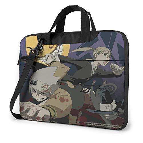 15.6″Lightweight Laptop Notebook Shoulder Backpack Bag Soul Waterproof PC Briefcase Messenger with Strap